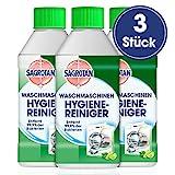 Sagrotan Waschmaschinen Hygiene-Reiniger - Maschinenreiniger für eine hygienische Waschmaschine - 3 x 250 ml Reiniger im praktischen Vorteilspack