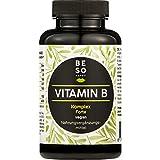 BeSoHappy® Vitamin BKomplex Forte(180Kapselnfür6Monate) –LaborgeprüftundGetestetin Deutschlandl mit Vitamine B12,B1, B2, B3, B4, B5, B6, Biotin, FolsäurelVegan,Glutenfrei & Lactosefrei