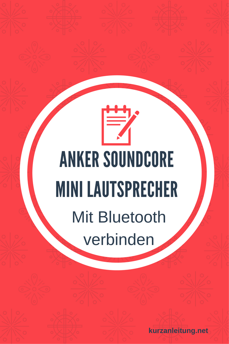 Anker SoundCore Mini Super Mobiler Bluetooth Lautsprecher Speaker