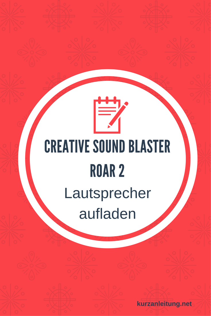 Creative Sound Blaster Roar 2 Tragbarer Bluetooth-Lautsprecher