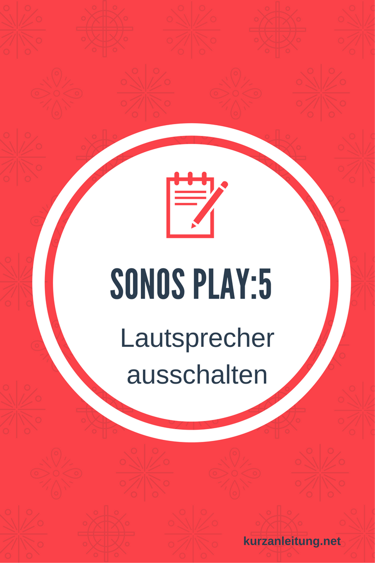 Sonos PLAY:5 I Klangstarker Multiroom Smart Speaker für Wireless Music Streaming