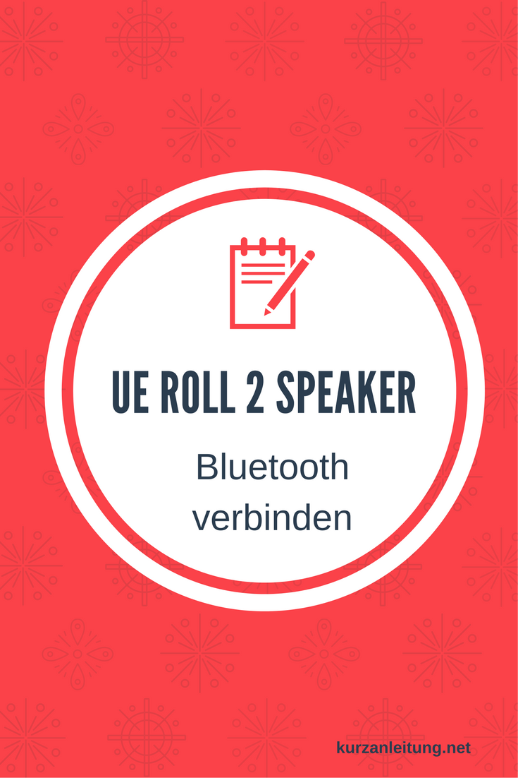 UE ROLL 2 Bluetooth-Lautsprecher