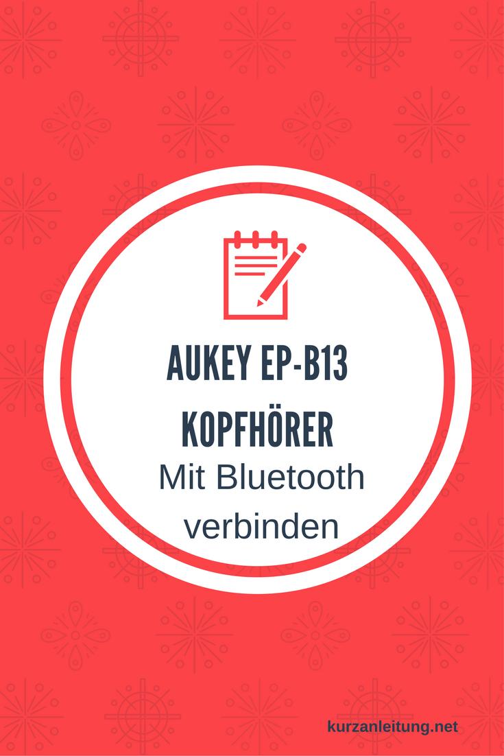 Aukey EP-B13 Kopfhörer