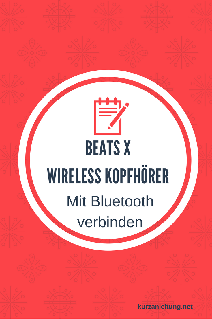 Beats by Dr. Dre Beats X Kopfhörer