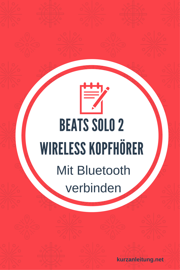 Beats by Dr. Dre Solo 2 Wireless Kopfhörer