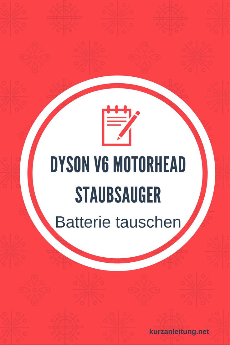 Dyson V6 Motorhead kabelloser Staubsauger