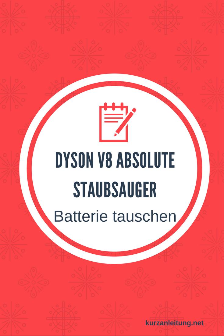 Dyson V8 Absolute kabelloser Staubsauger