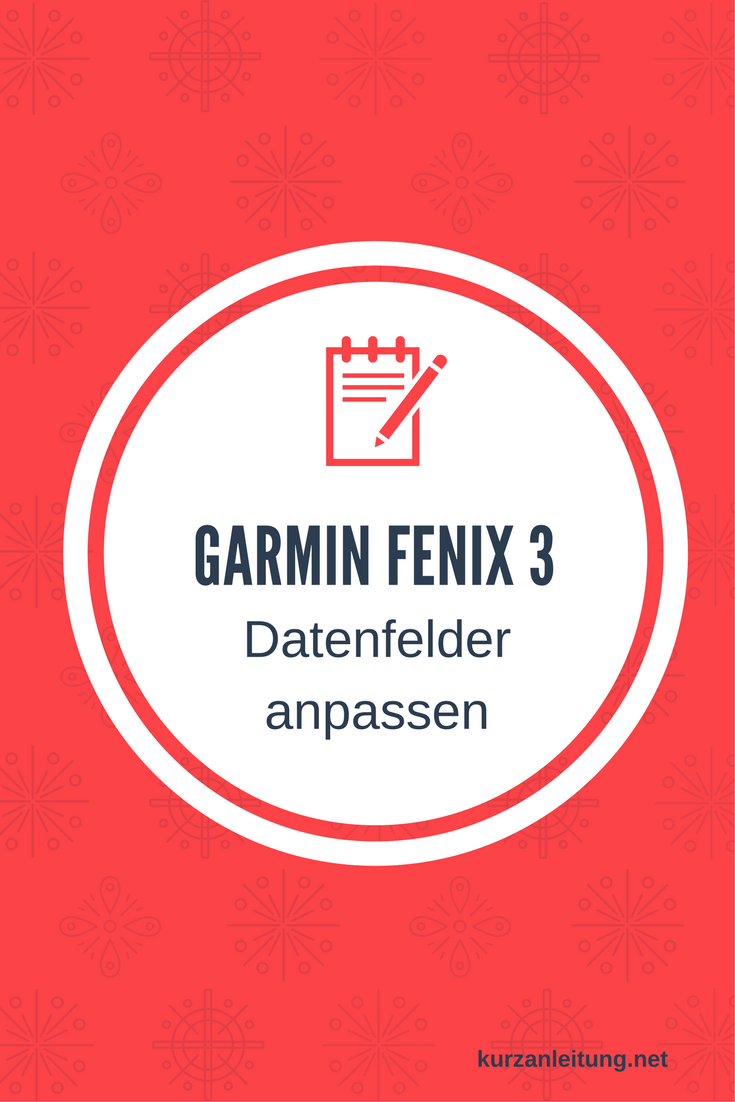 Garmin fenix 3 GPS-Multisportuhr