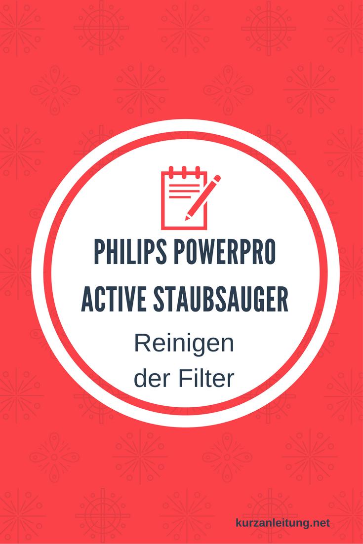 Philips FC9530/09 PowerPro Active Bodenstaubsauger ohne Beutel