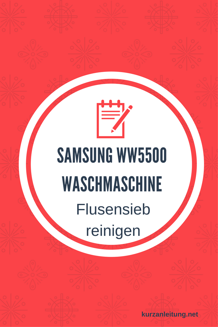 Samsung WW80K5400WW/EG WW5500 Waschmaschine