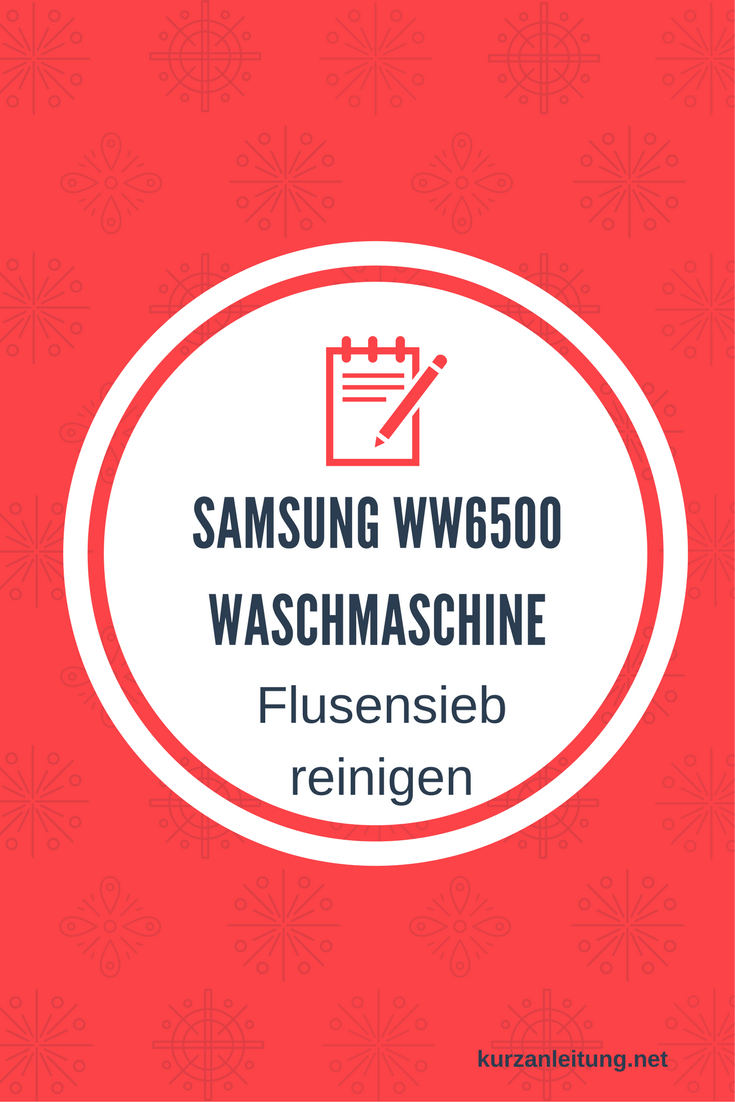Samsung WW6500 WW80K6404QX/EG Waschmaschine