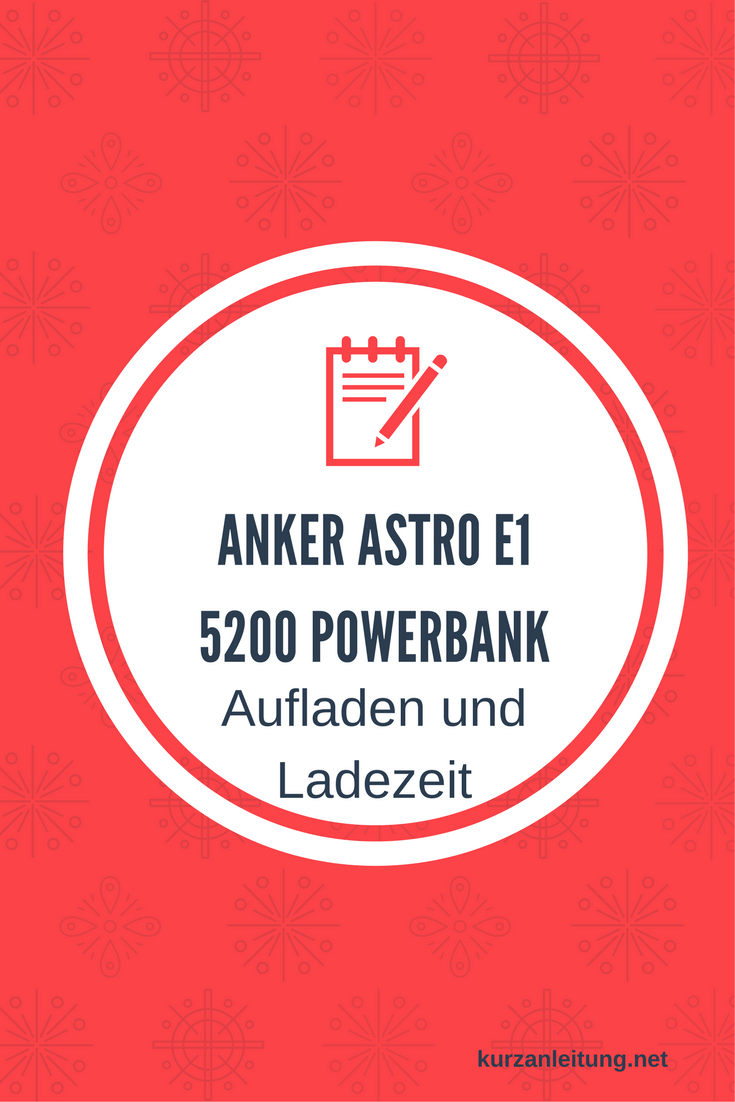 Anker Astro E1 Powerbank