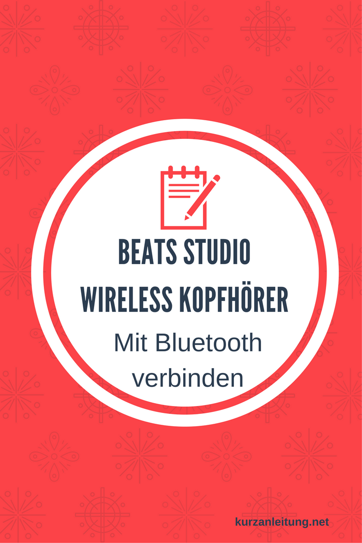 Beats by Dr. Dre Studio Wireless Kopfhörer