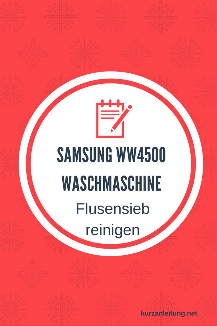 Samsung WW4500 WW70K4420YW / EG Waschmaschine