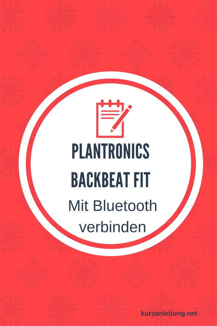 Plantronics BackBeat FIT Kopfhörer Bluetooth