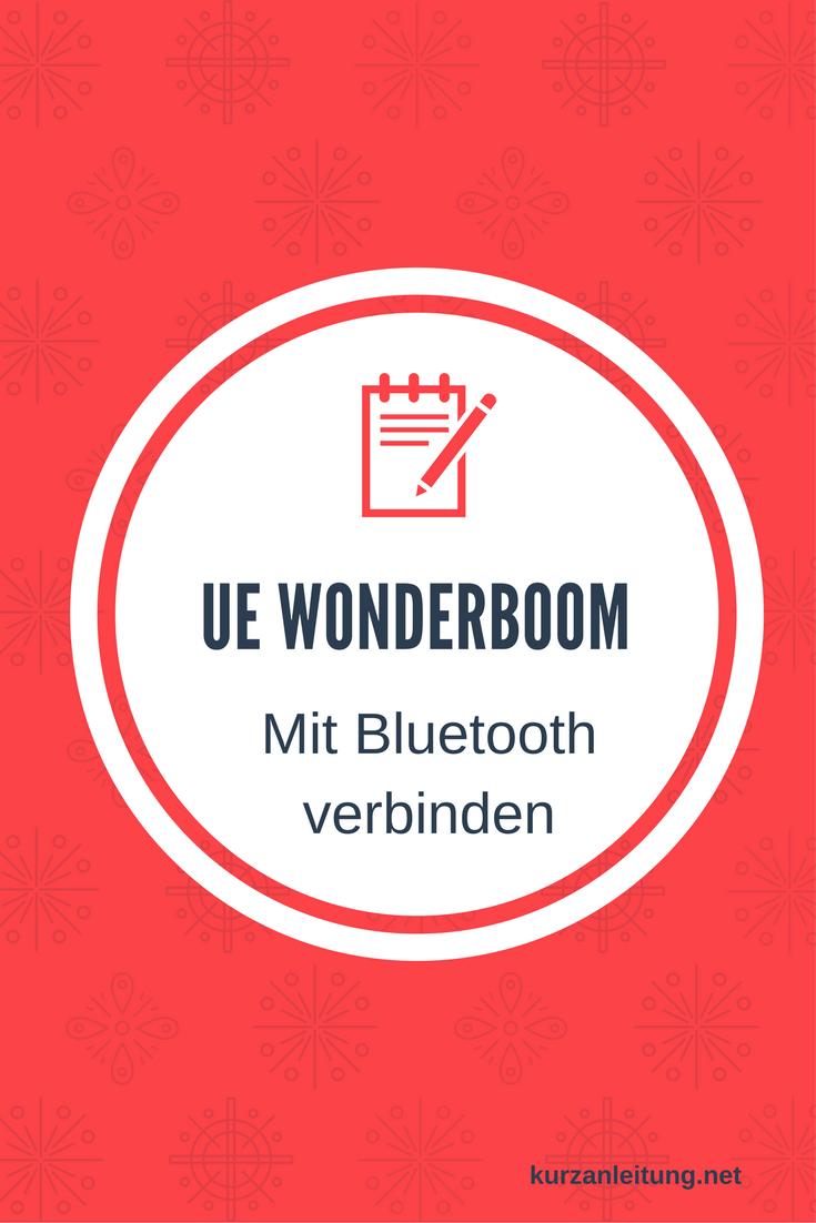 Ultimate Ears Wonderboom Lautsprecher