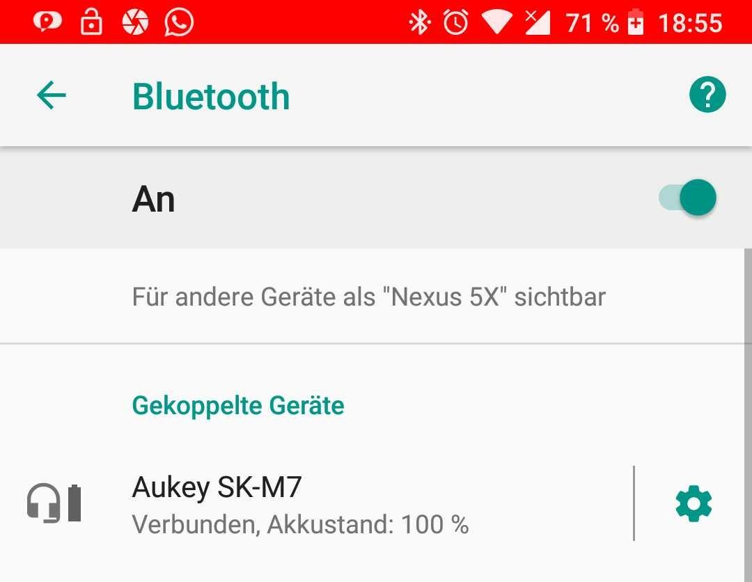 Aukey Lautsprecher SK-M7