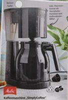 Melitta Simply Coffee Kaffeemaschine