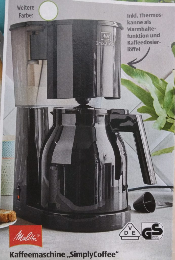 Melitta Simply Coffee Kaffeemaschine