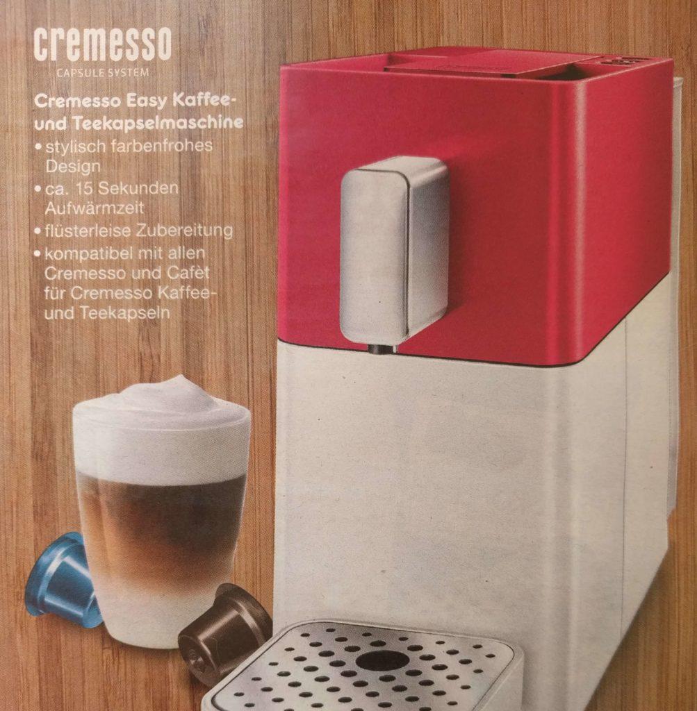 Cremesso Easy Kaffeemaschine